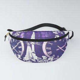 Kremlin Chimes-violet Fanny Pack