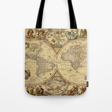The puzzled world Tote Bag