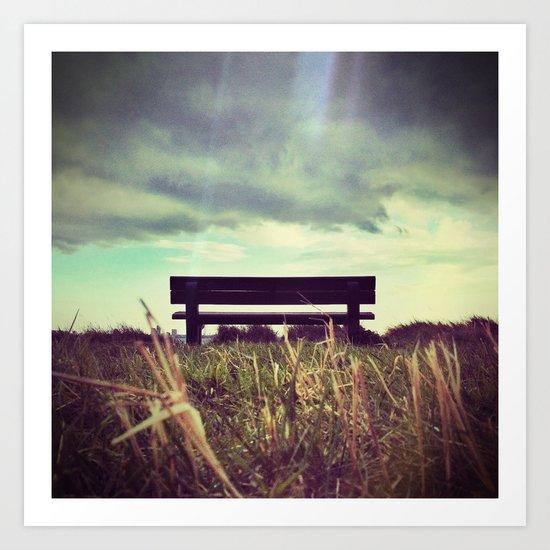 Take a seat part 1 Art Print