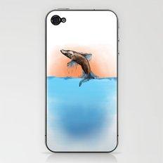 Breaching Whale iPhone & iPod Skin