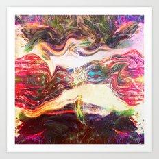 Milky Way Spiral Art Print