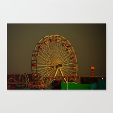 Pacific Park at sunset Canvas Print