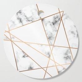 Marble Geometry 054 Cutting Board