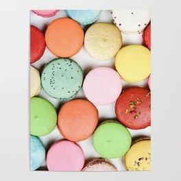 Rainbow Macaroons Poster