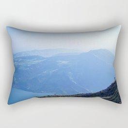 Push Your Boundaries Rectangular Pillow