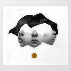 I want you so much closer  Art Print