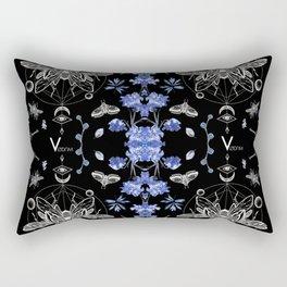 Occult Beetles Rectangular Pillow