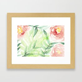 Abstract Tropical Pattern I Framed Art Print