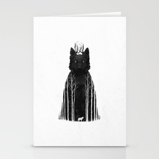 The Wolf King Stationery Cards