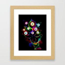 Eyes and  Visions Framed Art Print