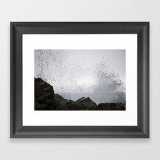 Get Wet Framed Art Print