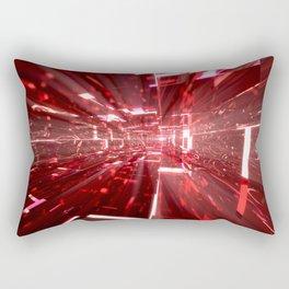 Ruby Tunnels Rectangular Pillow