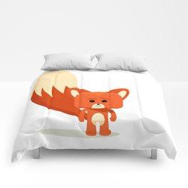 Feeling Foxy Comforters
