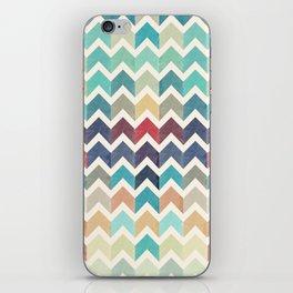 Watercolor Chevron Pattern iPhone Skin