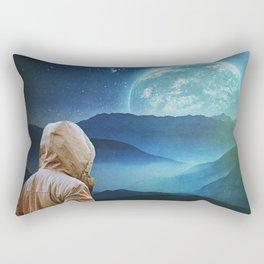 Seeking Again Rectangular Pillow
