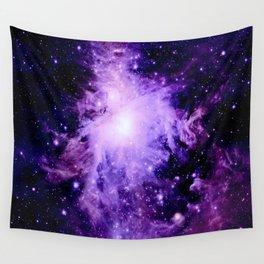 Orion nebUla. : Purple Galaxy Wall Tapestry