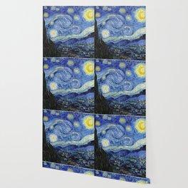 Starry Night by Vincent Van Gogh Wallpaper