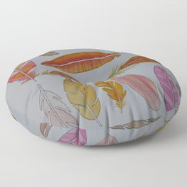 Warm Feathers Floor Pillow