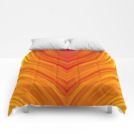 stripes wave pattern 3 eei Comforters
