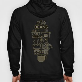 Pour Over Coffee Explained Hoody