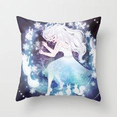 Winter Dream Throw Pillow
