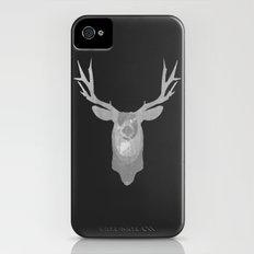 White Deer iPhone (4, 4s) Slim Case