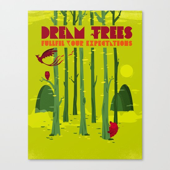 Dream Trees Canvas Print