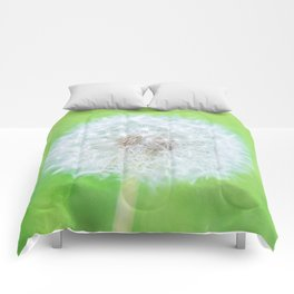 Dandelion - Just Woke Up Beauty Comforters