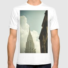 The city of the fighting styles Mens Fitted Tee MEDIUM White