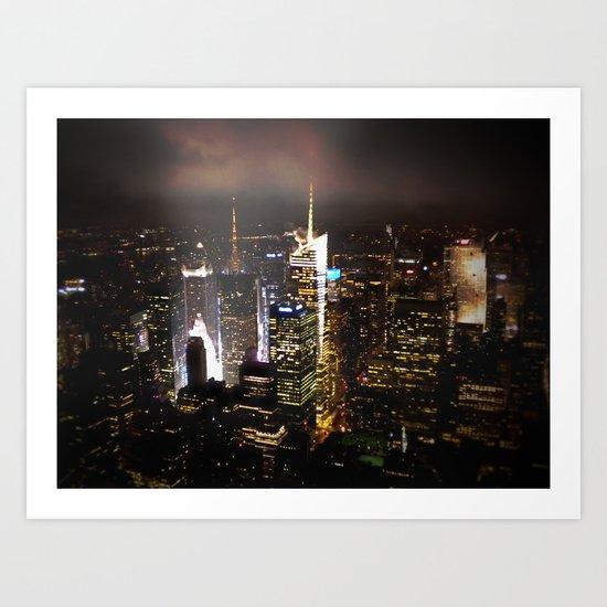 New York in 20 pics - Pic 15. Art Print