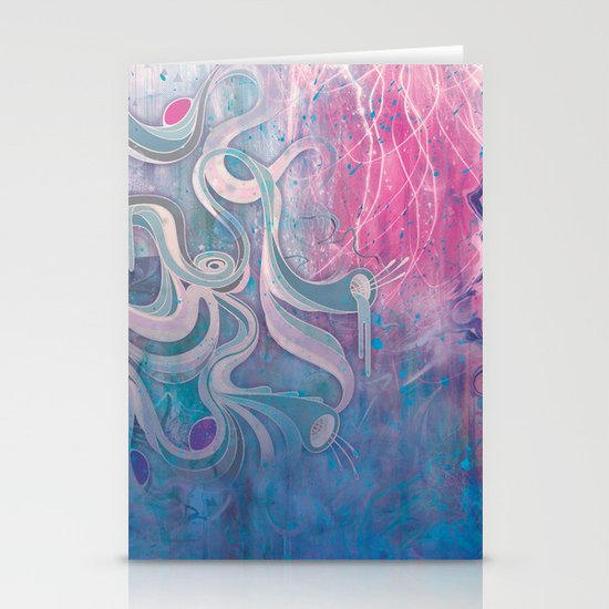 Electric Dreams Stationery Cards