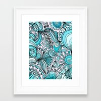 crystal Framed Art Prints featuring Crystal by DuckyB