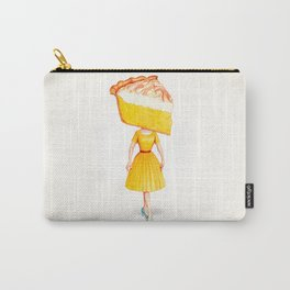Cake Head Pin-Up - Lemon Carry-All Pouch