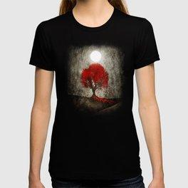 Red autumn. T-shirt