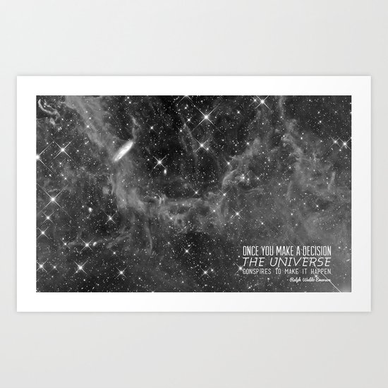 Put yourself out there Art Print