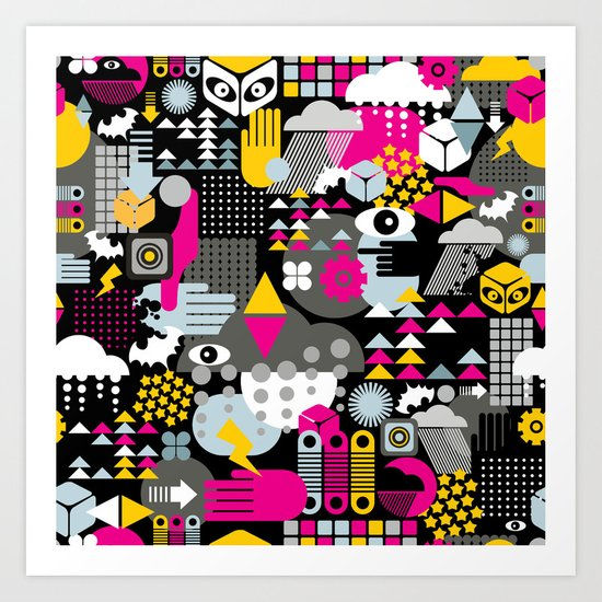 Abstract. Art Print