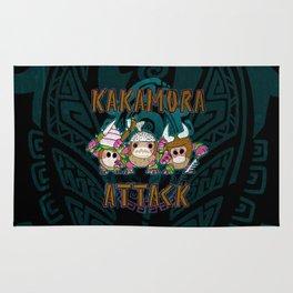 Kakamora Attack Rug