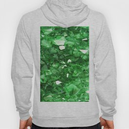 EMERALD GREEN CRYSTALS  MAY BIRTHSTONE Hoody