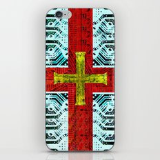 circuit board guernsey iPhone & iPod Skin