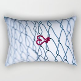 Love in the Cold Rectangular Pillow