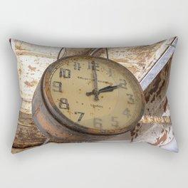 Time stood still 1 Rectangular Pillow