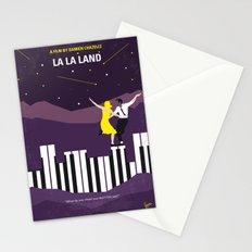 No756 My La La Land minimal movie poster Stationery Cards