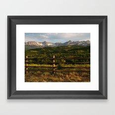 Rocky Mountain Grandeur Framed Art Print