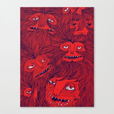 Hairwolves Canvas Print