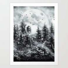 The Watcher Art Print