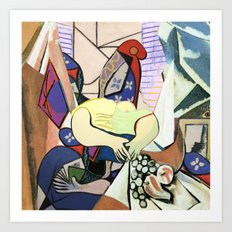 Mixed Picasso · 4 Art Print