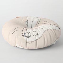 Nude 2 Floor Pillow