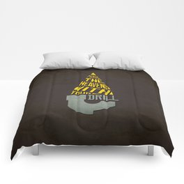 Pierce The Heavens With Your Drill Comforters