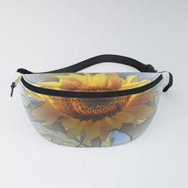 Greeting the rising sun Fanny Pack