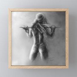 """Ledja"" Framed Mini Art Print"